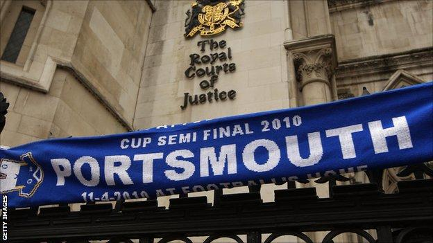 Portsmouth at the High Court