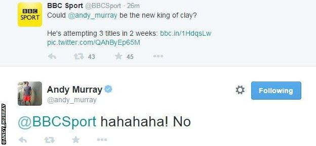 Andy Murray on Twitter