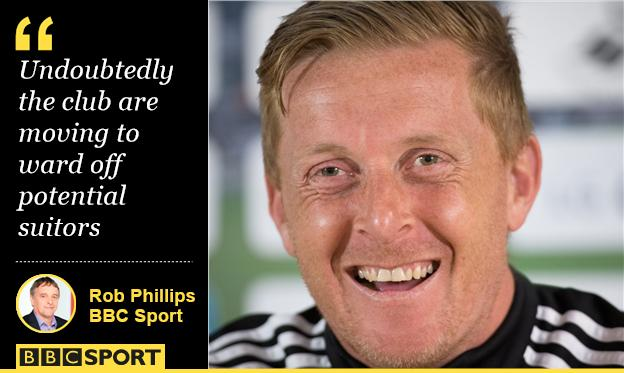 Rob Phillips and Garry Monk