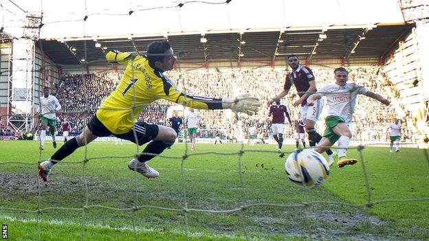 Hearts and Hibernian played the Edinburgh Derby in the Scottish Championship this season