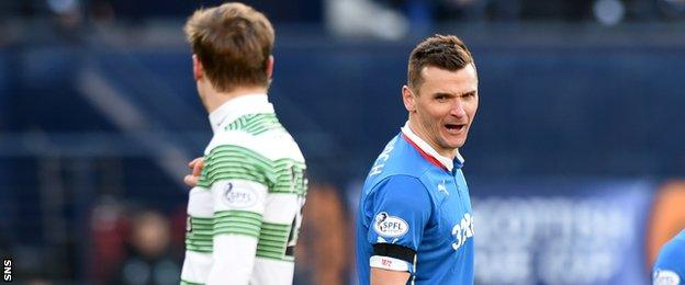 Celtic and Rangers met this season in the League Cup, but have been separated in the league by playing in different divisions