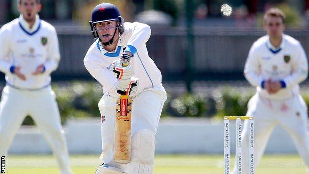 Leinster Lightning's Bill Coghlan top-scored with 130 against North West Warriors