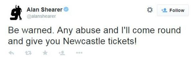 Alan Shearer Twitter
