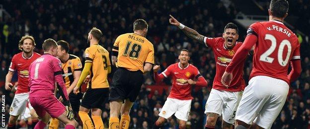 Manchester United v Cambridge United