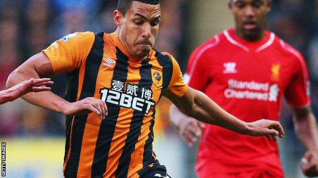 Jake Livermore of Hull City