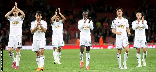 Swansea have done the double over both Arsenal and Manchester United this season