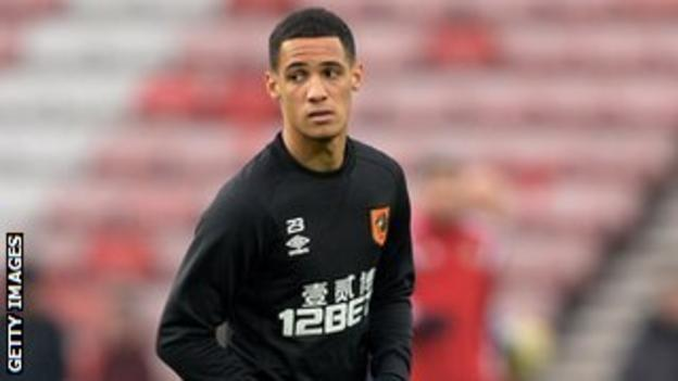Hull City midfielder Tom Ince