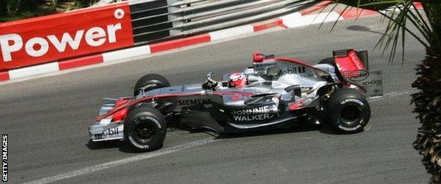 Kimi Raikkonen set the fastest ever lap at Monaco in 2006 during his time with McLaren