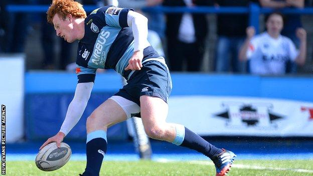 Rhys Patchell, Cardiff Blues