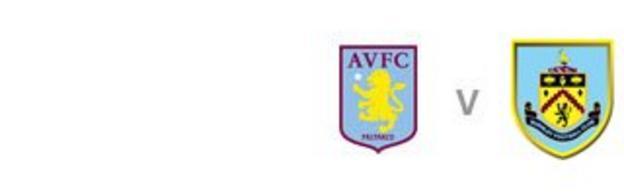 Aston Villa v Burnley