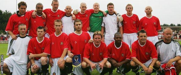 FC United v Wimbledon