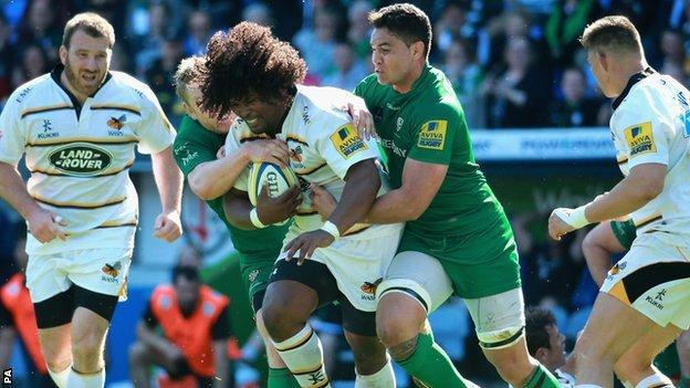 Wasps flanker Ashley Johnson