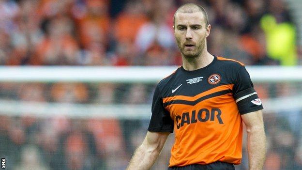 Dundee United captain Sean Dillon