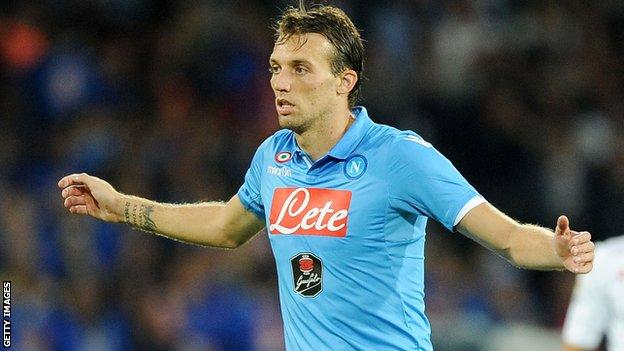 Michu played just five games for Napoli since joining the Italians on loan from Swansea