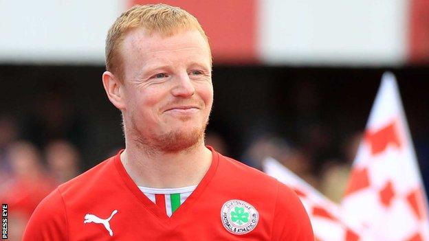 George McMullan of Cliftonville