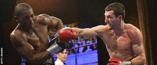 Jermain Taylor and Carl Froch