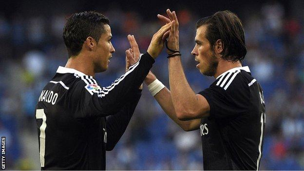 Cristiano Ronaldo and Gareth Bale's goals have not been enough to claim league or European honours for Real Madrid this season
