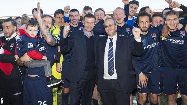 Ross County will release 14 players at the end of the season