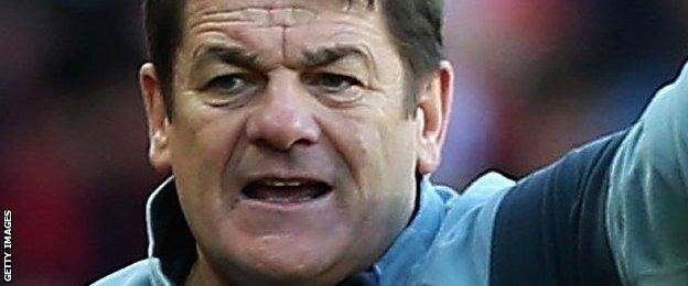 """John Carver accused players of lacking """"bottle"""" for relegation"""