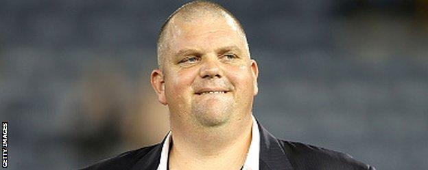 Newcastle Jets owner Nathan Tinkler