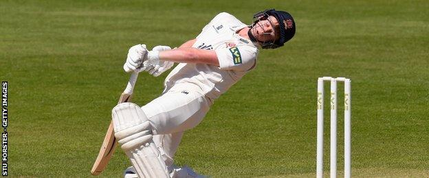 Essex youngster Callum Taylor
