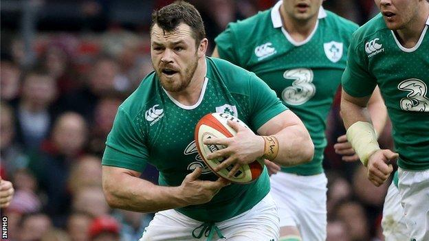 Cian Healy was part of Ireland's Six Nations winning squad