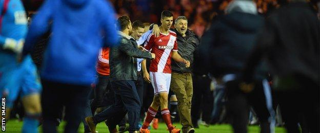 Middlesbrough Brentford semi-final