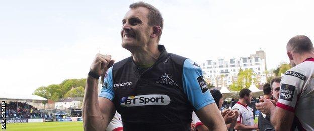 Al Kellock will lead Glasgow for the last time at Scotstoun