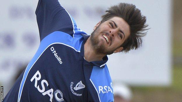 Leinster Lightning bowler Tyrone Kane