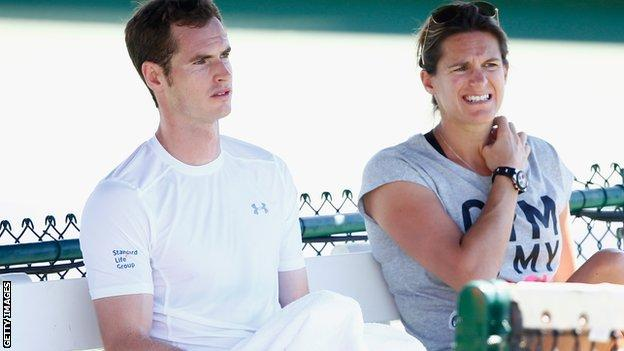 Murray & Mauresmo