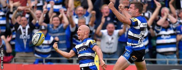 Peter Stringer and George Ford