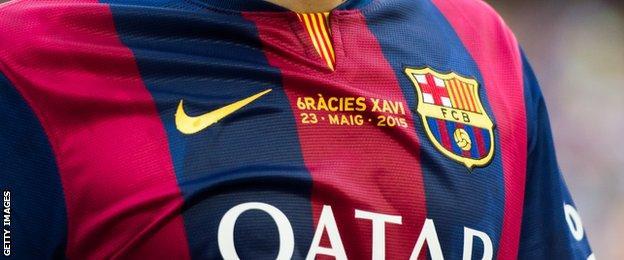Xavi shirt