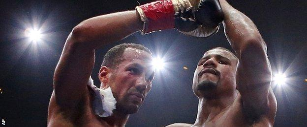 James DeGale and Andre Dirrell