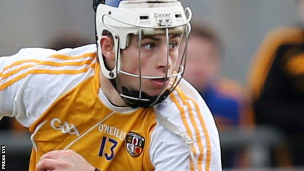 Conor Johnston scored Antrim's only goal