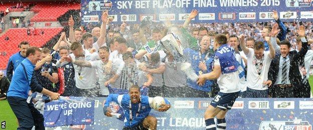 Preston celebrate
