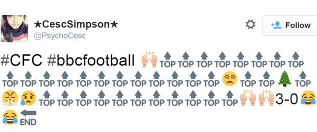 Chelsea's season in a tweet