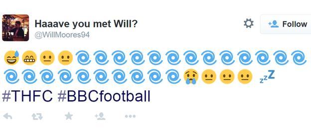 Tottenham's season in emojis