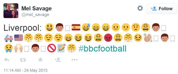 Liverpool's season in emojis