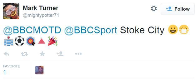 Stoke's season in emojis