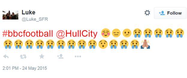 Hull's season in emojis
