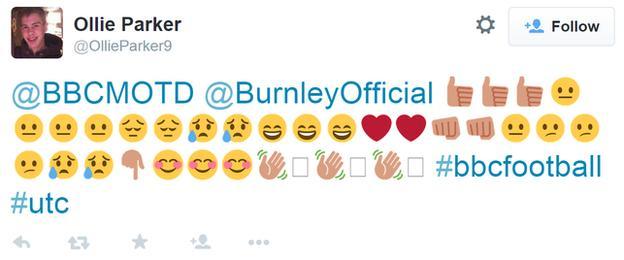 Burnley's season in emojis