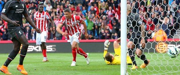 Jon Walters scores for Hull