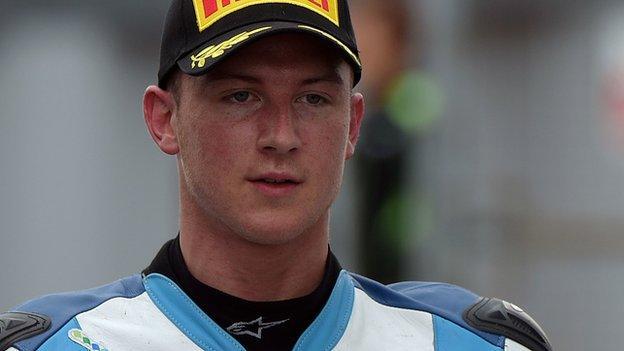 Joshua Elliott leads the National Superstock 1000cc Championship