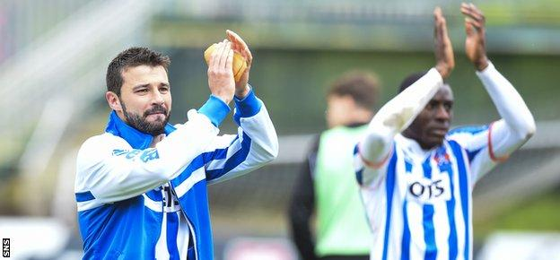 Alexei Eremenko says he is likely to leave Rugby Park