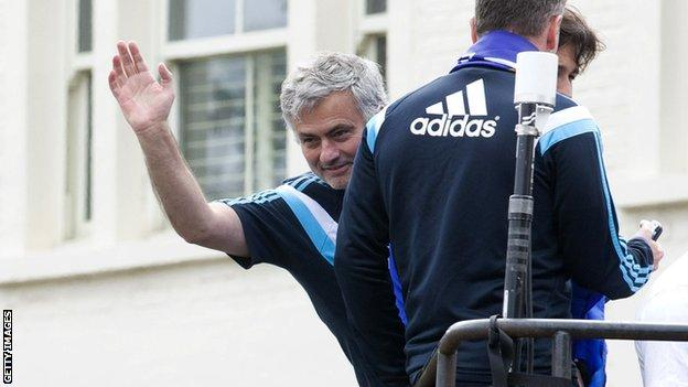Jose Mourinho of Chelsea