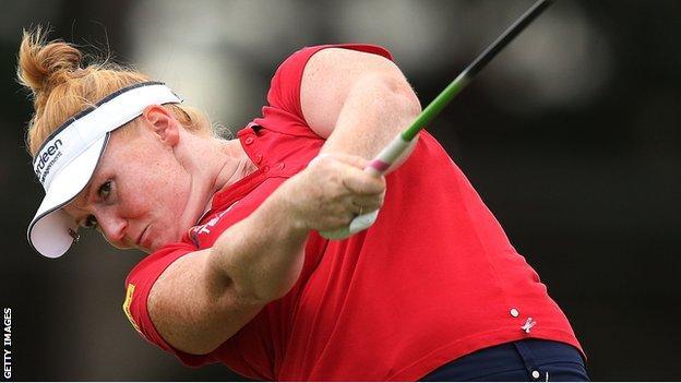 Golfer Kylie Walker
