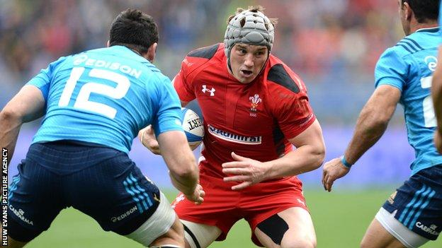 Jonathan Davies played on the victorious British Lions tour to Australia in 2013