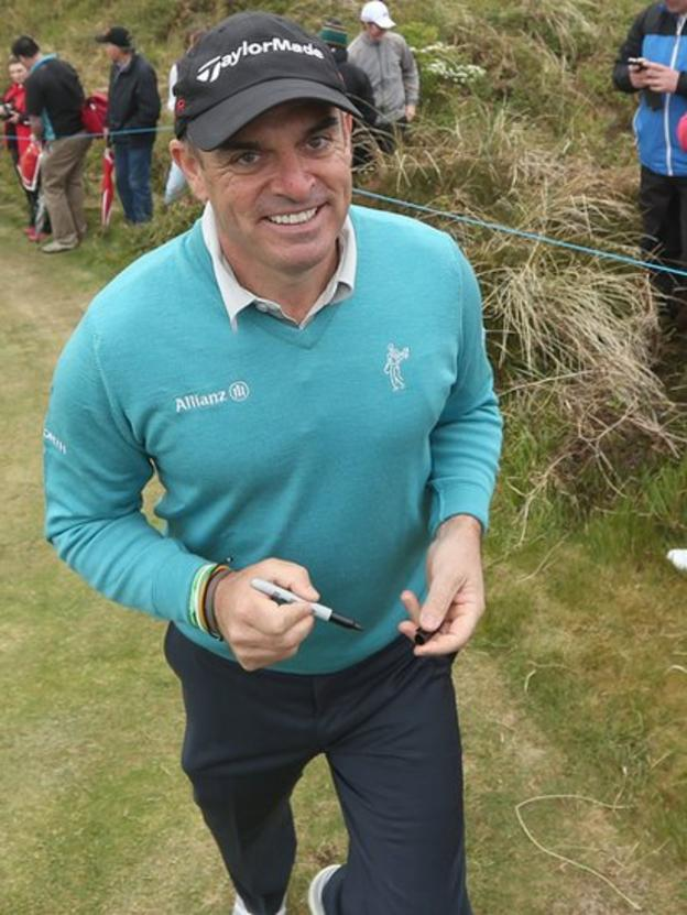 Europe's 2014 Ryder Cup winning captain Paul McGinley during the Pro-Am