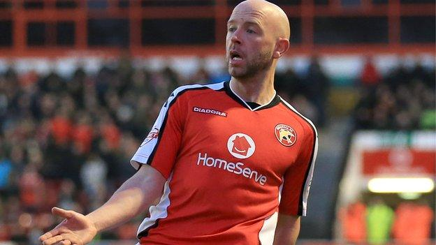 Walsall defender James O'Connor