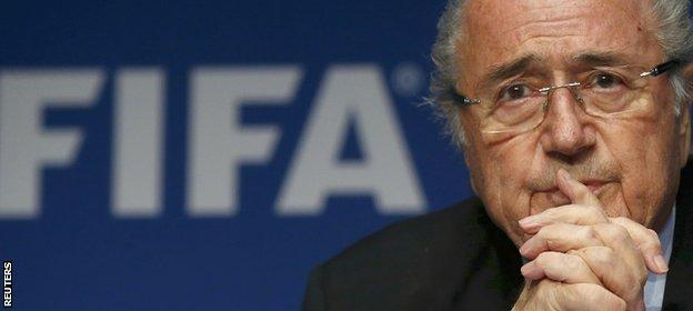 Fifa president Sepp Blatter has been in power since 1998